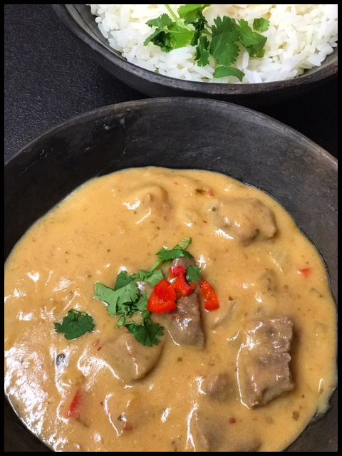 Thai slow cooked beef curryThai slow cooked beef curry