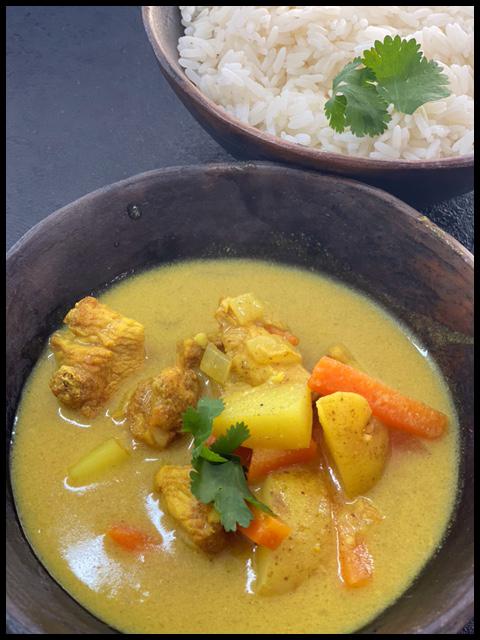 Vietnamese chicken casserole