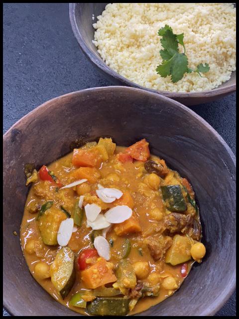 Marrakesh Vegetable Curry ( Vegan and Gluten Free)